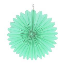"""Paper Fan 16""""-40cm Mint"""