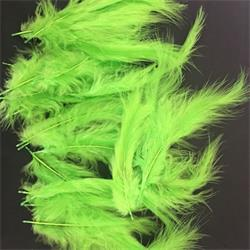 Lime feather decoration for Bubble and latex balloon