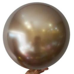 """Bobo Balloon Balls Gold 32"""" 82cm"""