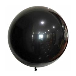 "Bobo Balloon Balls Black 22"" 55.8"