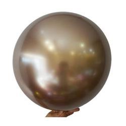 """Bobo Balloon Balls Gold 22"""" 55.8"""