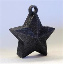 Glitter Star Weight 150g Black