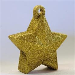 Glitter Star Weight 150g Gold