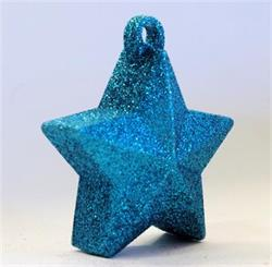 Glitter Star Weight 150g Light Blue