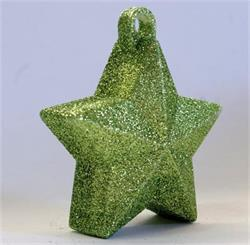 Glitter Star Weight 150g Lime Green