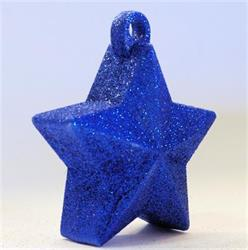 Glitter Star Weight 150g Royal Blue