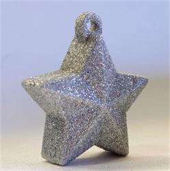 Glitter Star Weight 150g Silver
