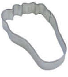 Cookie Cutter Tin Plated Babys Foot 8.9cm