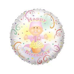 Baby 1st Birthday Girl 45cm