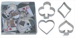 Cookie Cutter Set - Card Night
