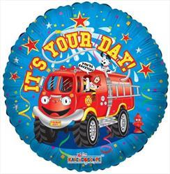 Firetruck Birthday 45cm