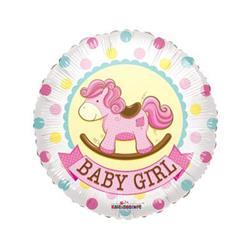 Baby Girl Rocking Horse Gellibeans 45cm