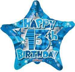 Happy 13th Birthday Boy 45cm