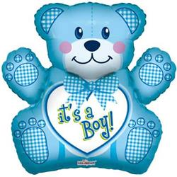 Baby Boy Bear Shape 3D  71cm