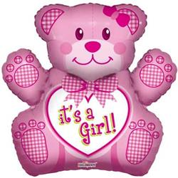 Baby Girl Bear Shape 3D 71cm