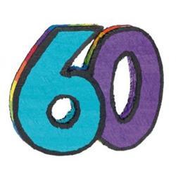 Pinata Number 60