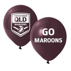 QLD Team Balloons