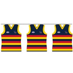 AFL Adelaide Crows Party Bunting