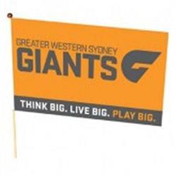 AFL GWS Giants Flag Medium