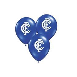 AFL Carlton Balloons.