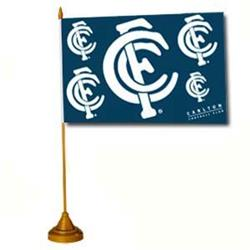 AFL Carlton Flag Desk