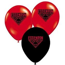 AFL Essendon Balloons.