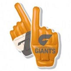 AFL GWS Giants Inflatable Hand