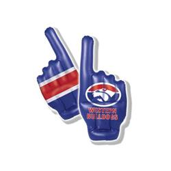 AFL Western Bulldogs Inflatable Hand