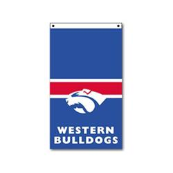 AFL Western Bulldogs Supporter Flag