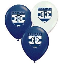 AFL Geelong Balloons