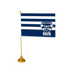AFL Geelong Flag Desk