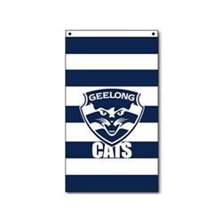 AFL Geelong Supporter Flag