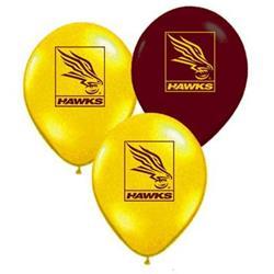 AFL Hawthorn Balloons