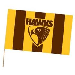 AFL Hawthorn Flag Medium
