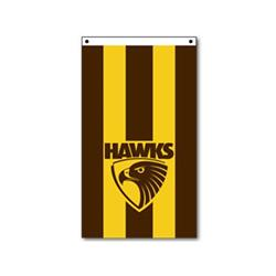 AFL Hawthorn Supporters Flag