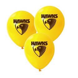 AFL Hawthorn Balloons.