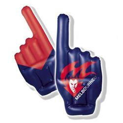 AFL Melbourne Inflatable Hand