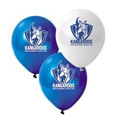 AFL Kangaroos Balloons