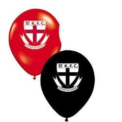 AFL St Kilda Balloons .