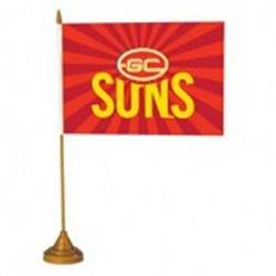 AFL Gold Coast Suns Flag Desk
