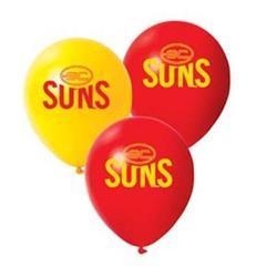 AFL Gold Coast Suns Balloons