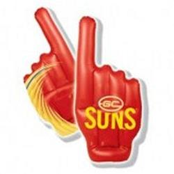 AFL Gold Coast Suns Inflatable Hand