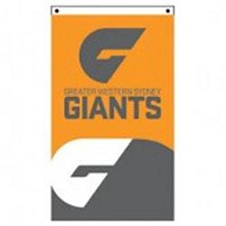 AFL GWS Giants Supporter Flag