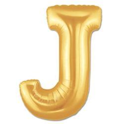 LETTER J 100cm Gold