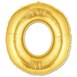 LETTER O 100cm Gold
