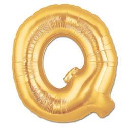 LETTER Q 100cm Gold