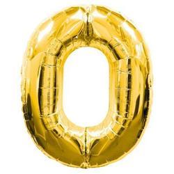Number 0 95cm Gold