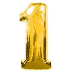 Number 1 95cm Gold