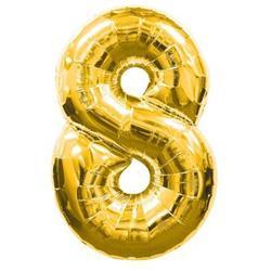 Number 8 95cm Gold