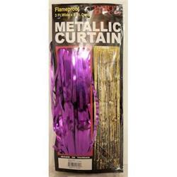Door Curtain Purple 90cm x 2.4mtrs